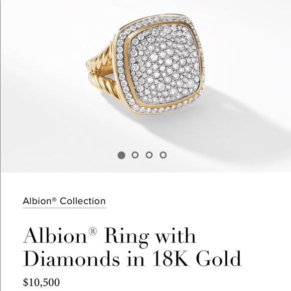 ad4d451b015e77 David Yurman Jewelry - 📣 FriYAY SALE David Yurman 18K gold Diamond ring